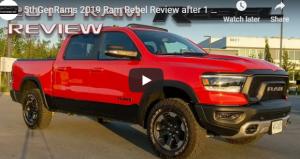 2019 Ram Rebel Reviews Ram Rebel Price