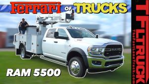 The new 2019 Ram HD 5500 Trucks are More Capable and More Luxurious Than Ever! (Video)
